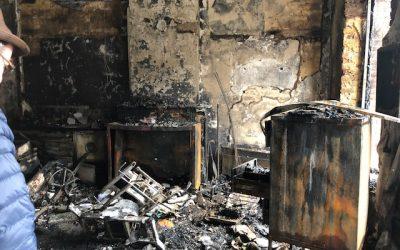 Un incendie près de chez vous … Votre courtier réagit!