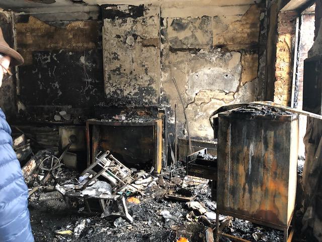 sinistre incendie chimay